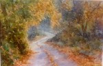 Soft Autumn Lane